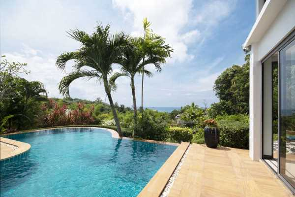 for sale - Amazing Views. Three-Bedroom Sea-View Villa and Large Garden - Klong Muang, Krabi