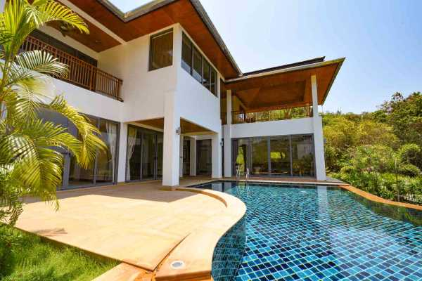 for sale - Stylish Contemporary, Four-Bedroom Ocean View Home - Klong Muang, Krabi