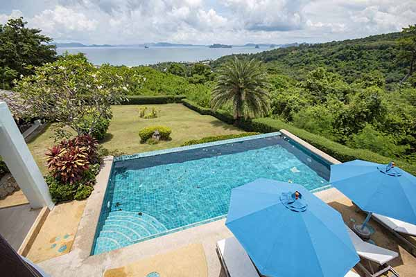 for sale - Four-Bedroom Ocean-View Villa with Stunning Views - Klong Muang, Krabi